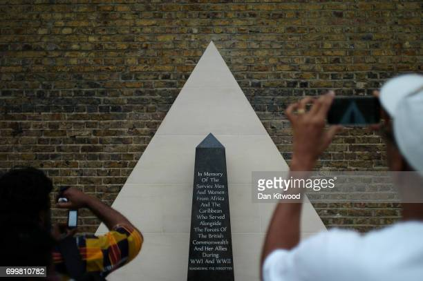 A memorial honoring the two million African and Caribbean military servicemen and women who served in World War I and World War II is unveiled in...
