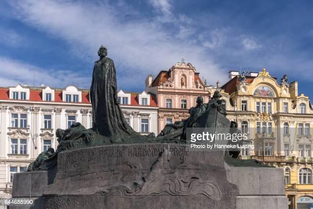 Memorial on Prague Old Town Square