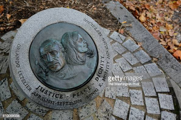 A memorial plaque on Sheridan Circle remembers Orlando Letelier and Ronni Moffitt who they were assassinated by a car bomb explosion on September 21...
