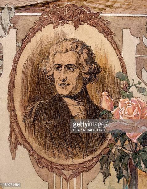 Memorial portraiture of Franz Joseph Haydn Austrian composer Vienna Historisches Museum Der Stadt Wien