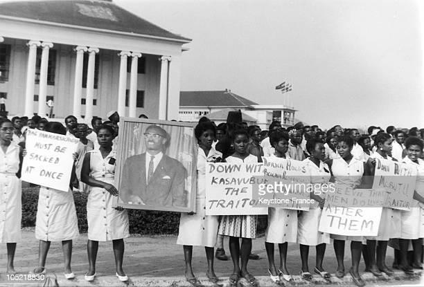 Memorial Service For Patrice Lumumba In Accra Hammarskjold Must Be Sacked Slogans