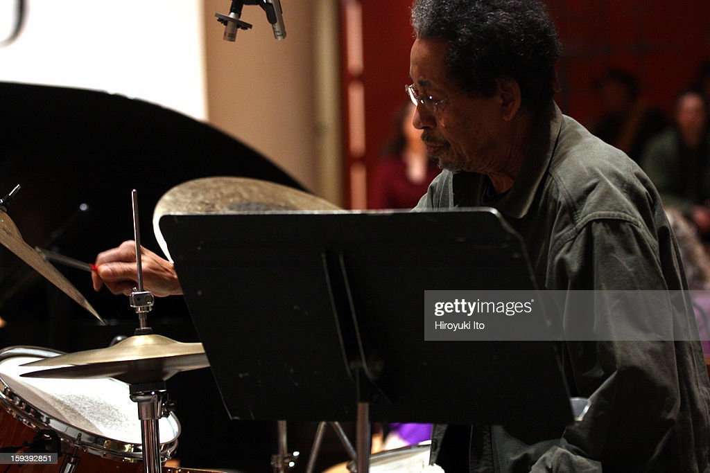 A memorial service for the tenor saxophonist David S. Ware at St. Peter's Church on Monday night, January 7, 2013.This image:Warren Smith.