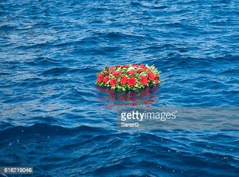 memorial wreaths : Stock Photo