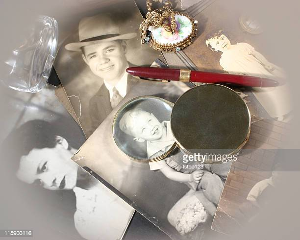 Memories of Family photographs memorabilia geneology