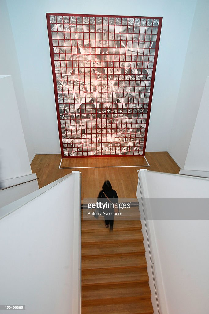 'Memosis' of the greek artist Llias Poulos is seen at the Granet museum during the contempory art exhibition for Marseille-Provence 2013 European Capital of Culture on January 13, 2013 in Aix-en-Provence, France.