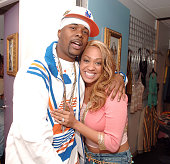 Memphis Bleek and La La Vasquez during MTV Presents HipHop Week April 26 2005 at MTV Studios Times Square in New York City New York United States