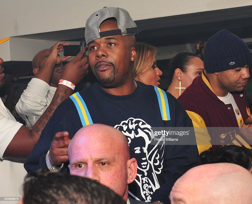 Memphis Bleek attend the So So Def anniversary party hosted by Jay Z at Compound on February 23, 2013 in Atlanta, Georgia.