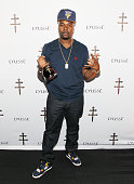 Memphis Bleek attends the D'USSE VIP Riser At Rihanna ANTI World Tour at Barclays Center on March 30 2016 in New York City