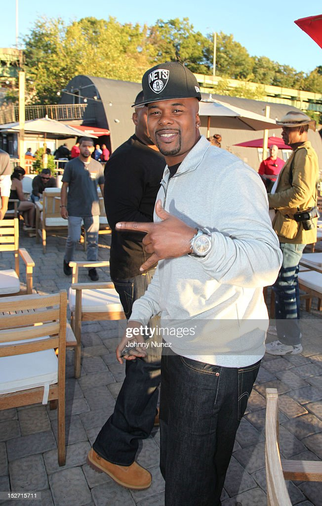Memphis Bleek attends the Jay-Z And Beyonce Summer Ends With D'USSE Cognac Cocktails Celebration at La Marina Restaurant Bar Beach Lounge on September 23, 2012 in New York City.