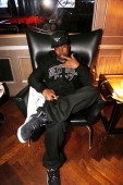 Memphis Bleek attends the Magna Carter World Tour New York City After Party at 40 / 40 Club on January 12 in New York City
