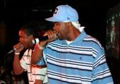 Memphis Bleek during Hurricane Katrina Hip Hop Benefit Concert September 19 2005 at BB Kings in New York City New York United States