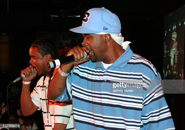 Memphis Bleek during Hurricane Katrina Hip Hop Benefit Concert September 19 2005 at BB Kings in New York City New York United States