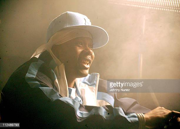 Memphis Bleek during Memphis Bleek 'Like That' Video Shoot March 22 2005 at 40/40 Club in New York City New York United States
