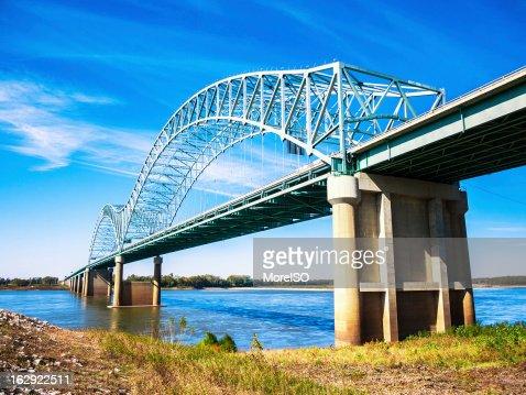 Memphis, Bridge across Mississippi River
