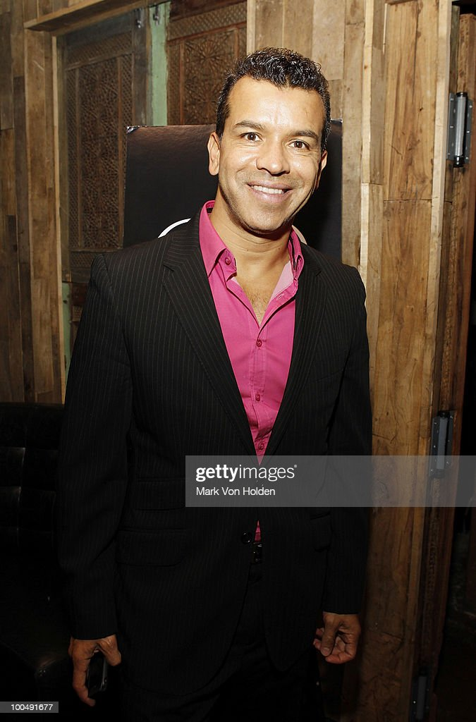Memphis choreographer Sergio Trujillo attend Everlon Diamond Knot Strength Of Love Dinner For Cast of Broadway's Memphis at Double Crown Restaurant on May 24, 2010 in New York City.