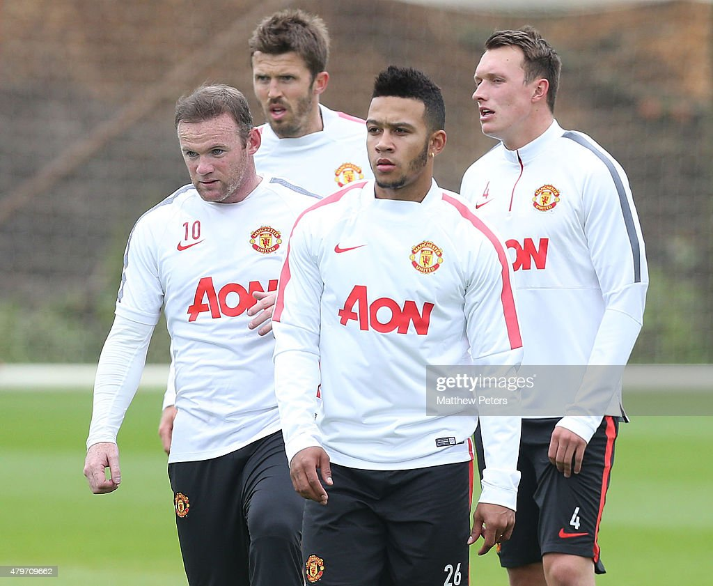 Memphis Depay's First Manchester United Training Session
