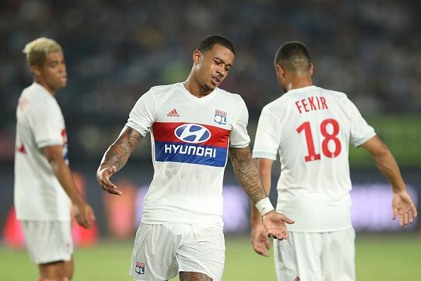 FC Internationale v Olympique Lyonnais - 2017 International Champions Cup China : News Photo