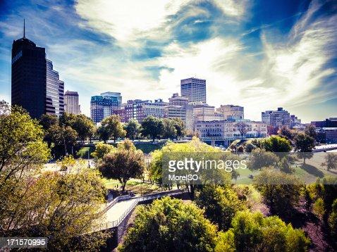 Memphis Downtown Skyline