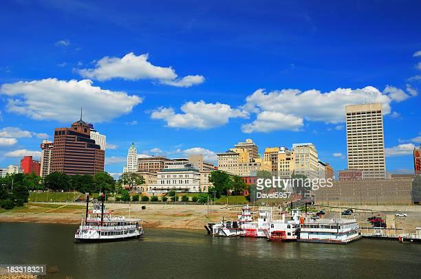 メンフィスの街並みと川の眺め