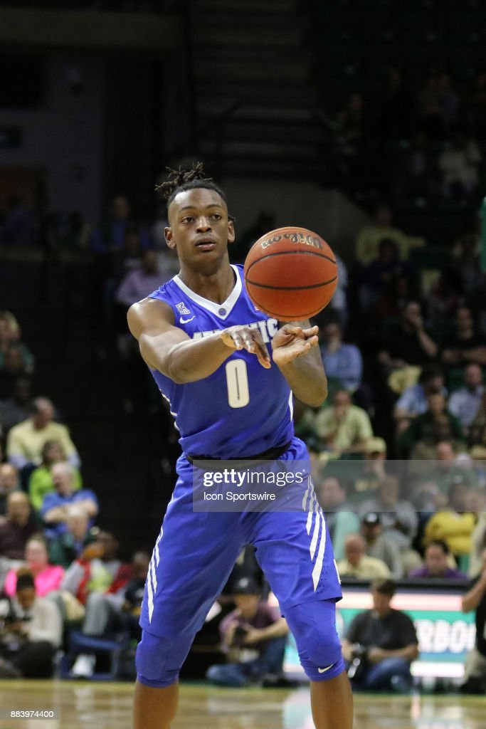 Memphis Tigers forward Kyvon Davenport (0) during the game between the Memphis Tigers and the UAB Blazers on November 30, 2017 at Bartow Arena in Birmingham, Alabama.