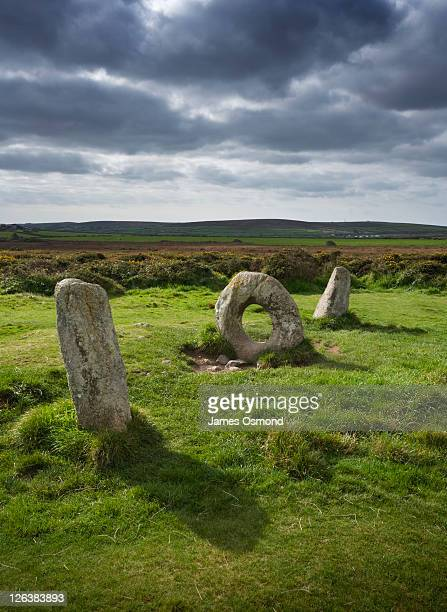 Men An Tol, A Bronze Age Megalithic Structure, Cornwall, England, UK