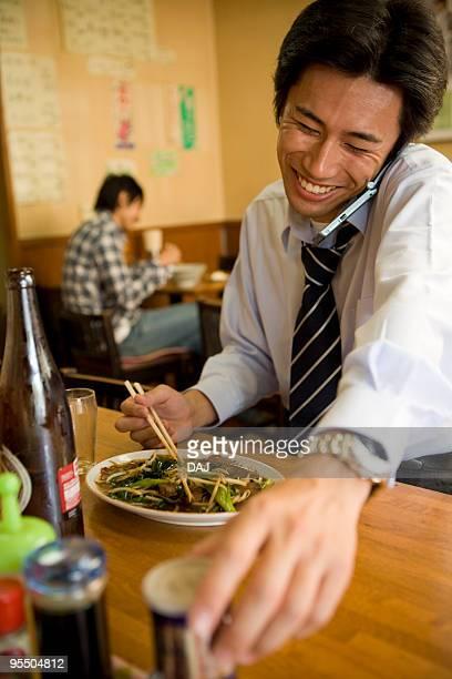 Men at restaurant