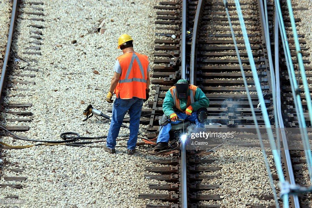 Men at work : Stock Photo