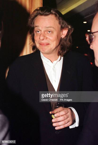 'Men Behaving Badly' star Martin Clunes at the Variety Club Awards in London where the entire cast of the BBC TV comedy programme were voted BBC TV...