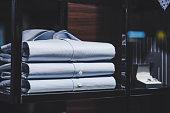 men clothing in detail