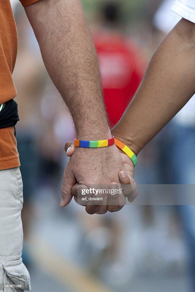 Men Holding Hands #4