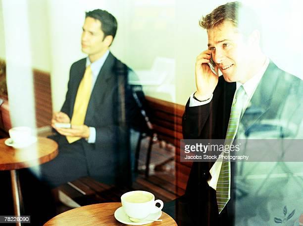 Men in cafe