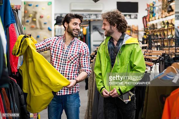 Männer kaufen möchten, wind Jacke ist der Sport-shop