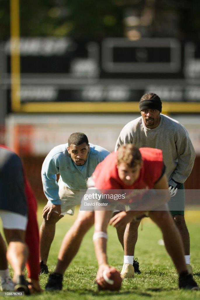 Men playing football : Stock Photo
