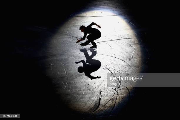 Men silver medalist Nobunari Oda of Japan performs during ISU Grand Prix and Junior Grand Prix Final at Beijing Capital Gymnasium on December 12 2010...
