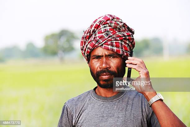 Men Talking on Mobile Phone