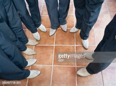 Men Wearing White Cowboy Boots Stock Photo | Getty Images