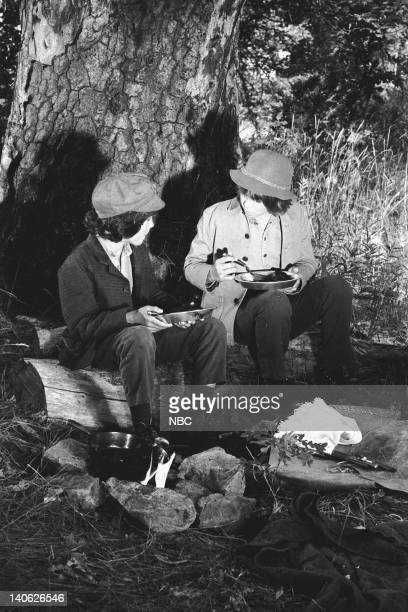PRAIRIE 'Men Will Be Boys' Episode 10 Aired 11/13/78 Pictured Matthew Laborteaux as Albert Quinn Ingalls Patrick Labyorteaux as Andrew 'Andy' Garvey...