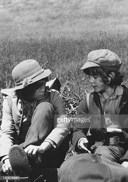 PRAIRIE 'Men Will Be Boys' Episode 10 Aired 11/13/78 Pictured Patrick Labyorteaux as Andrew 'Andy' Garvey Matthew Laborteaux as Albert Quinn Ingalls...