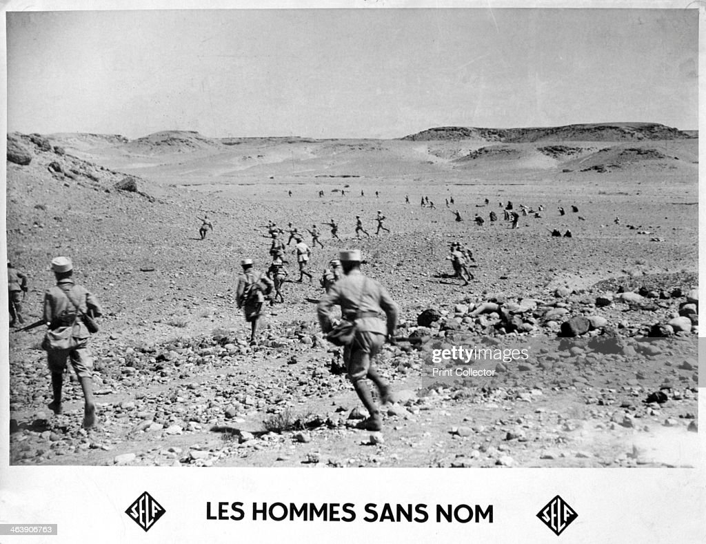 The french foreign legion on patrol in the desert the french foreign