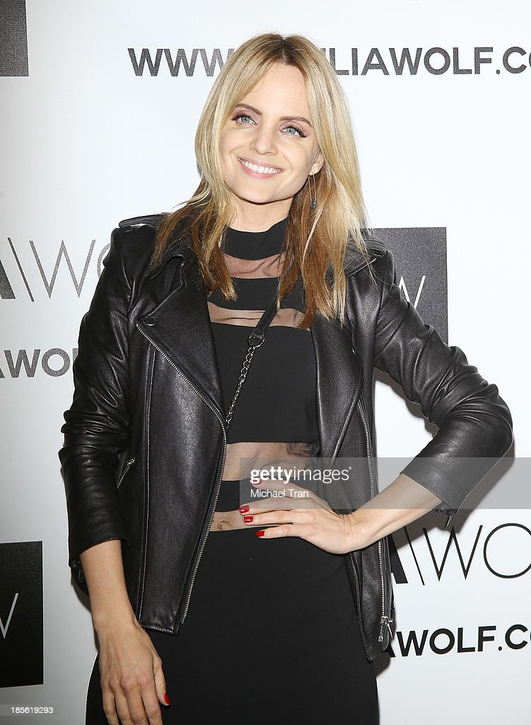 <a gi-track='captionPersonalityLinkClicked' href=/galleries/search?phrase=Mena+Suvari&family=editorial&specificpeople=156413 ng-click='$event.stopPropagation()'>Mena Suvari</a> arrives at the Dahlia Wolf launch party held at Graffiti Cafe on October 22, 2013 in Los Angeles, California.