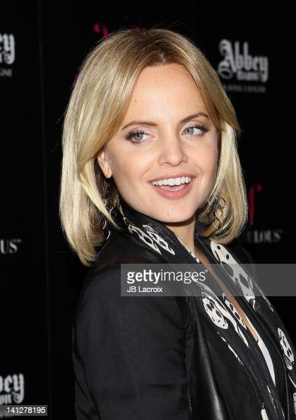 Mena Suvari attends JustFabulous and Abbey Dawn by Avril Lavigne partnership launch party at The Viper Room on March 13 2012 in West Hollywood...