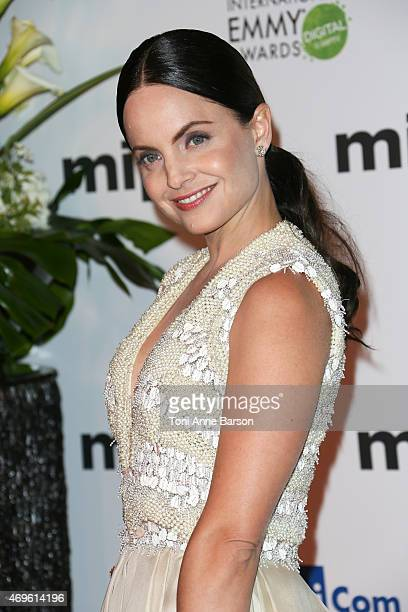 Mena Suvari attends MIPTV opening party as part of MIPTV 2015 on April 13 2015 in Cannes France