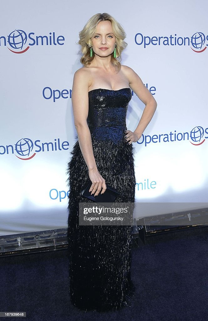 Mena Suvari attends Operation Smile's 30th anniversary celebration at Cipriani 42nd Street on May 2, 2013 in New York City.