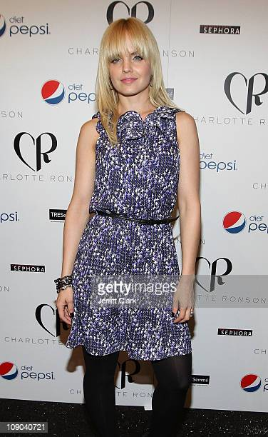 Mena Suvari attends the Charlotte Ronson Fall 2011 Fashion show presented by Diet Pepsi during MercedesBenz Fashion Week at The Stage at Lincoln...