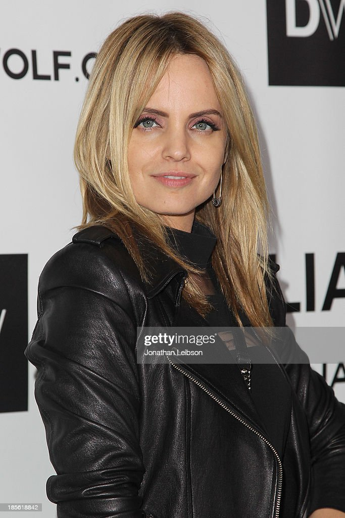 <a gi-track='captionPersonalityLinkClicked' href=/galleries/search?phrase=Mena+Suvari&family=editorial&specificpeople=156413 ng-click='$event.stopPropagation()'>Mena Suvari</a> attends the Dahlia Wolf Launch Party at Graffiti Cafe on October 22, 2013 in Los Angeles, California.