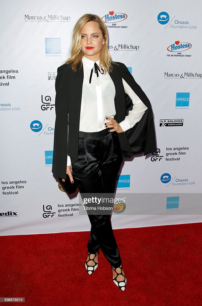 Mena Suvari attends the premiere of 'Worlds Apart' at the Egyptian Theatre on June 5 2016 in Hollywood California