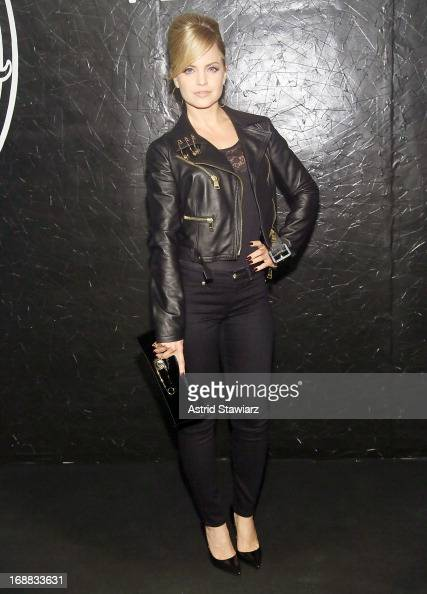 Mena Suvari attends the Versus Versace launch hosted by Donatella Versace at the Lexington Avenue Armory on May 15 2013 in New York City