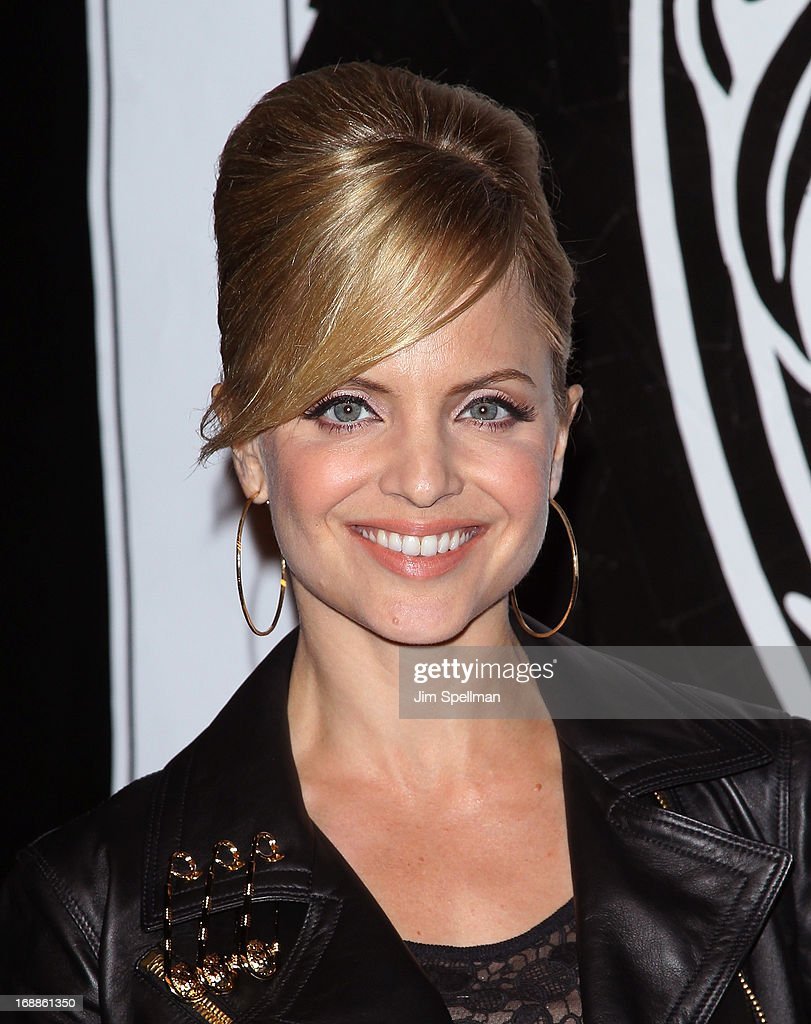 <a gi-track='captionPersonalityLinkClicked' href=/galleries/search?phrase=Mena+Suvari&family=editorial&specificpeople=156413 ng-click='$event.stopPropagation()'>Mena Suvari</a> attends the Versus Versace launch hosted by Donatella Versace at the Lexington Avenue Armory on May 15, 2013 in New York City.