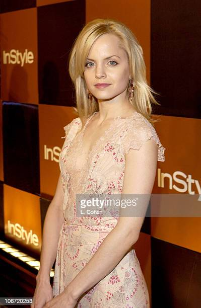 Mena Suvari during InStyle Magazine Hosts Fourth Annual PostGolden Globes Party to Honor Hollywood's Elite Arrivals at The Beverly Hilton Hotel in...