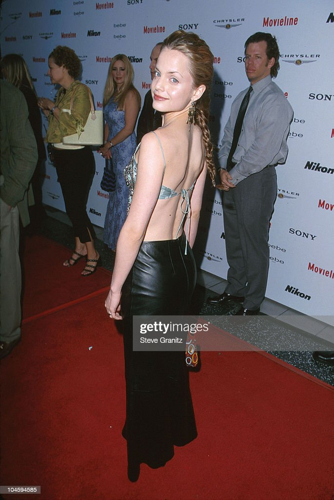 <a gi-track='captionPersonalityLinkClicked' href=/galleries/search?phrase=Mena+Suvari&family=editorial&specificpeople=156413 ng-click='$event.stopPropagation()'>Mena Suvari</a> during Movieline Magazine Hosts the 2nd Annual Young Hollywood Awards at Hollywood Galaxy Theatre in Hollywood, California, United States.